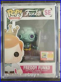 Funko Pop! Freddy Funko Fundays Space Robot SET ALL 3 SDCC 2018 LE 2000 MINT
