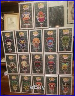 Funko Pop (Masters of the Universe) Lot of 17 All In Protectors MOTU He-Man