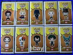 Funko Pop My Hero Academia Deku All Might Ochaco Aizawa Vinyl Figure Anime Lot