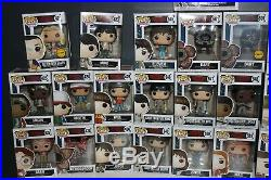 Funko Pop! Television Stranger Things Lot of 32 Figures all with Pop Protectors
