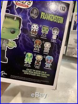 Funko Pop! Universal Monsters Lot Of 8 Full Run Set All New In Box Dracula Frank