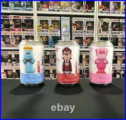 Funko Soda Chase Lot of 3 Boo Berry, Frankenberry, Count Chocula ALL CHASE