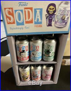 Funko Soda Figure Lot Of 12 CHASE WithSoda Display read description Of All Soda