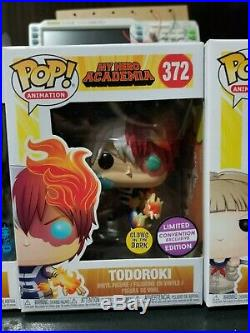 Funko pop! MY HERO ACADEMIA LOT ALL MIGHT MOMO DABI TODOROKI HIMIKO DEKU NYCC