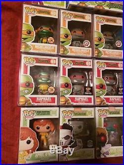 Funko pop teenage mutant ninja turtles near complete lot VHTF! All Exclusive's