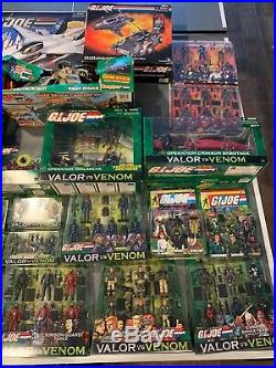 GI Joe ultimate collection lot of figures & vehicles all boxed and unopened