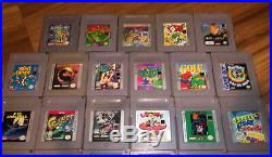 Gameboy Game Lot Collection 35 Tested Games All Work Some Need Battery