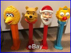 Giant Pez dispensers 29 Mint condition! All make cool sounds
