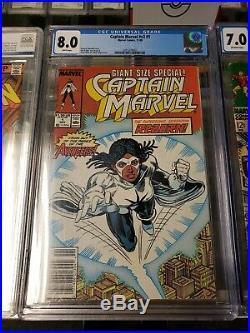 Graded Marvel Comic Book Lot PGX / CGC IronMan, XMen, Deadpool, ALL 5