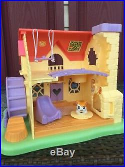 HAMTARO LOT Ham-Ham House In Box AND ALL 8 Hamster Playsets Hasbro 2002