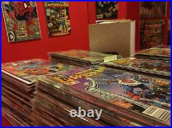 HUGE 100 COMIC BOOK LOT-MARVEL, DC, INDY -ALL VF to NM+ CONDITION NO DUPLICATES
