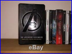 HUGE LOT 120+ Blu Ray Steelbook Personal Collection Disney Marvel ALL DIFFERENT