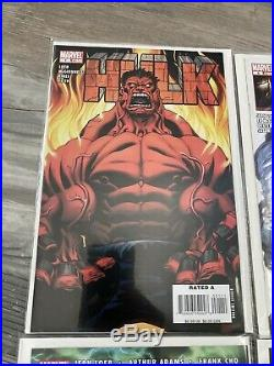 HULK #1 VF/NM 1st RED HULK 2008 MARVEL COMICS Complete Run 1-30 All Mint Unread