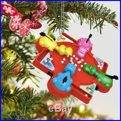 Hallmark Keepsake Family Game Night Ornaments 2014-2019 All 6 Brand New Mint