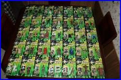 Hasbro Star Wars Power Of The Jedi Collection 2 Lot Of 35 3.75 Figures All NIP