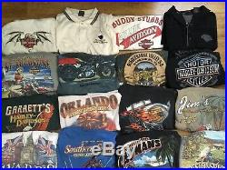 Hd Harley-davidson Lot Of (25) Collectible Shirts All Adult Size XXL (2xl)