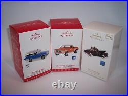 Huge Lot 20x Hallmark Classic All-american Truck Ornaments 1995 2019 Mib
