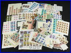 Huge Lot All MNH Mint US Stamps Sheets Blocks Commemoratives $280+ FV Collection
