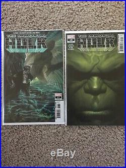 Immortal Hulk 10 Comic Lot All 1st Prints 1, 2, 3, 5-7, 15-18 1st App. Dr. Frye