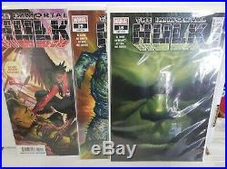 Immortal Hulk LOT 1-22 Complete Comic Lot All First Print NM Alex Ross Covers
