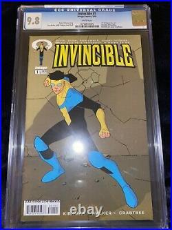 Invincible #1 & #2 & #3 ALL CGC 9.8 WHITE! LOT SET Low Print Run Amazon