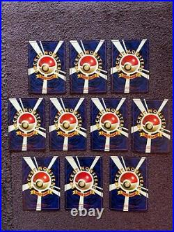 JAPANESE Pokemon Cards CD PROMO lot Holo Charizard, Blastoise, Venu all MINT