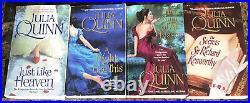 JULIA QUINN LOTComplete 36 Book Collection Must See ALL Series! Bridgerton+