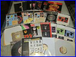 KISS / Classic & Re-Issue LP Collection Mint To VG + Overall Grading, All Inserts
