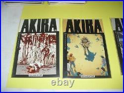 Lot 22 Akira 1-3 6-24 all around VF/NM! Epic Comics Otomo near set run 2 3 4 5