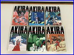 Lot Complete AKIRA 1-6 Katsuhiro Otomo Manga Comics TPB Hot set books all