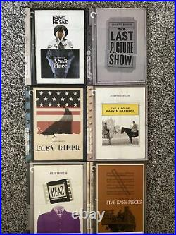 (Lot Of 22) Criterion Collection -Blu-Ray Discs & Boxed Sets All Complete
