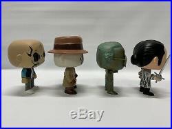 Lot Of 4 Loose Funko Pops Stan Lee, Diablo, Rorschach, Captain Salazar All Euc