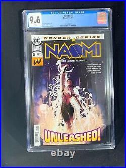 (Lot Of 5) Naomi #1, 2, 3, 4, 5 All CGC Graded DC Comics Wonder Bendis Campbell