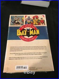 Lot Of 6 Dc Batman Golden Age Omnibus 1-5 2-5 Sealed And All Are Near Mint