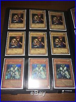 Lot Of YUGIOH 132 Foil Cards BINDER All 1st Edition NA-EN Secret Ultra Super