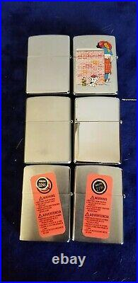 Lot of 12 Zippos All New Colt, JD, Betty Boop and more