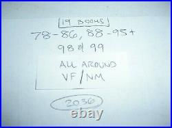 Lot of 19 Spawn run 78-86 88-95 98 99 all around VF/NM! 89 90 91 92 93 94 2036