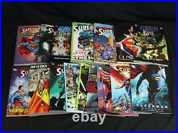 Lot of 45 Different DC Comics Superman Graphic Novels TPB All NM/Mint Some HC