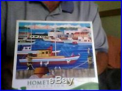 (Lot of 8) Hometown Collection, All Heronim Artwork, Jigsaw Puzzles 1000 pcs
