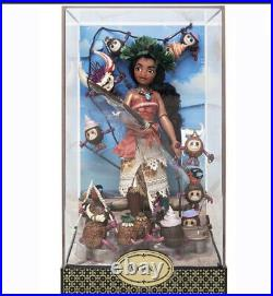 Lot of ALL 5 Disney Fairytale Designer 2017 Doll Sets LE 6000 NIB Ariel Rapunzel