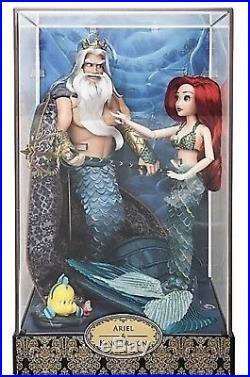 Lot of ALL 5 Sets Disney Fairy tale Designer 2017 Dolls LE