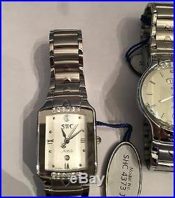 Lot of Ten Watches SWC & LOBOR Collection Half Men's & Half Women (All Working)