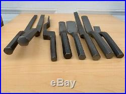 Lot of Vintage Plumbing Irons Caulking Chisels -All Marked