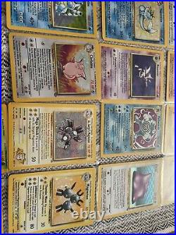 Lot of vintage rare Collection Pokemon Cards Holographic Wotc/Japanese Take All