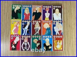 MARS Fuyumi Soryo Anime Graphic Novel 1-15 all volumes set lot good condition