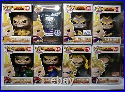 MHA Funko Pop Collection All Might Deku All For One Tomura Shigarak Lot / Bundle