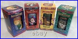 MINT 1994 Walt Disney Collector Series Cups Glasses Burger King Coca Cola ALL 12