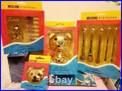 MOSCHINO + SEPHORA BEAR COLLECTION 4 Pc. Lot. LMTD Edition! NEWithAUTHENTIC