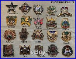 Marine Security Guard Detachment 100 Coin Lot- All Authentic! MSG, Non-NYPD/CPO