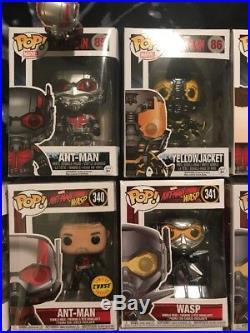 Marvel Ant-man Funko Pop Lot All Excellent Condition- Read Description